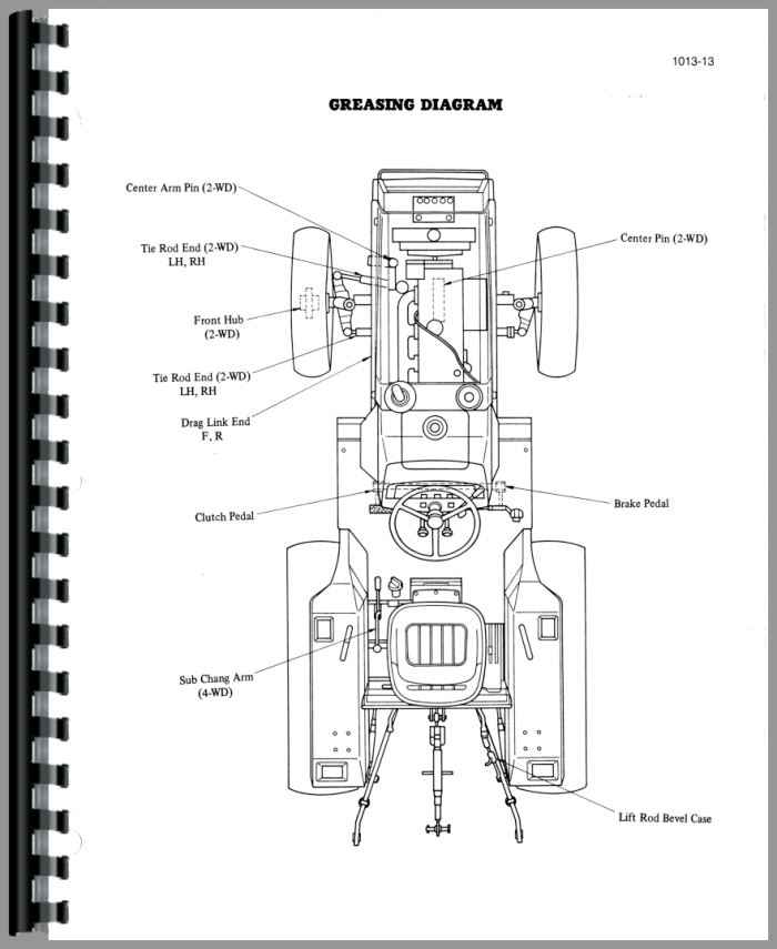 case tractor 6 volt wiring diagram free picture