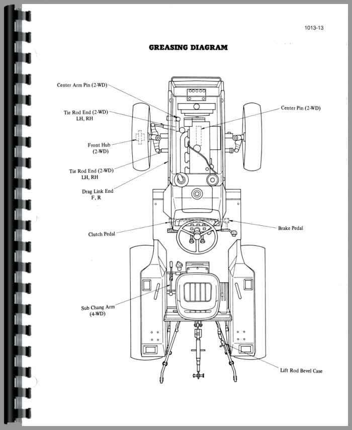 case tractor wiring schematics