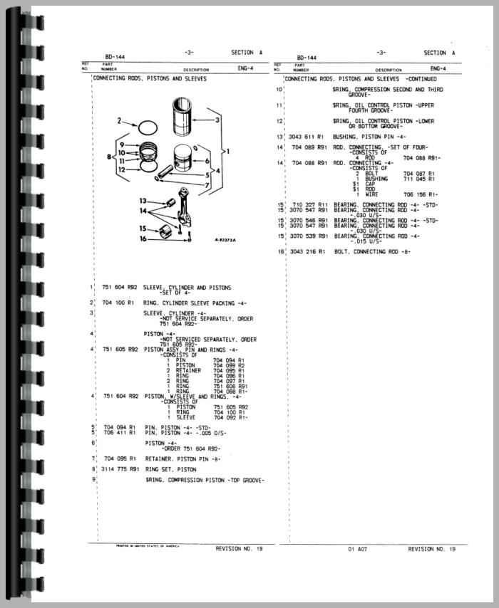 Ih 3444 Tractor Wiring Diagram Wiring Schematic Diagram