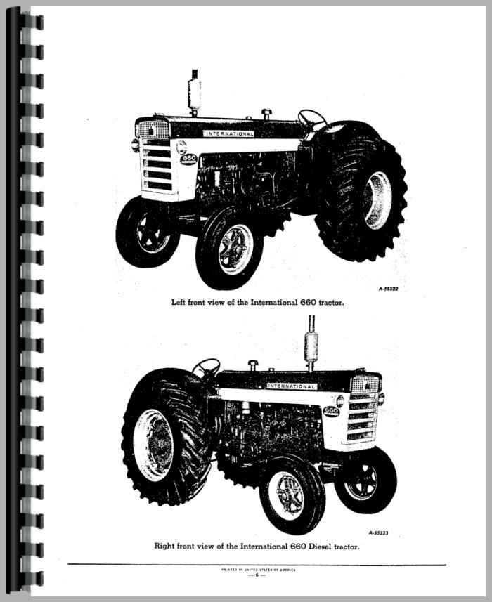 Farmall 560 Tractor Wiring Diagram Index listing of wiring diagrams