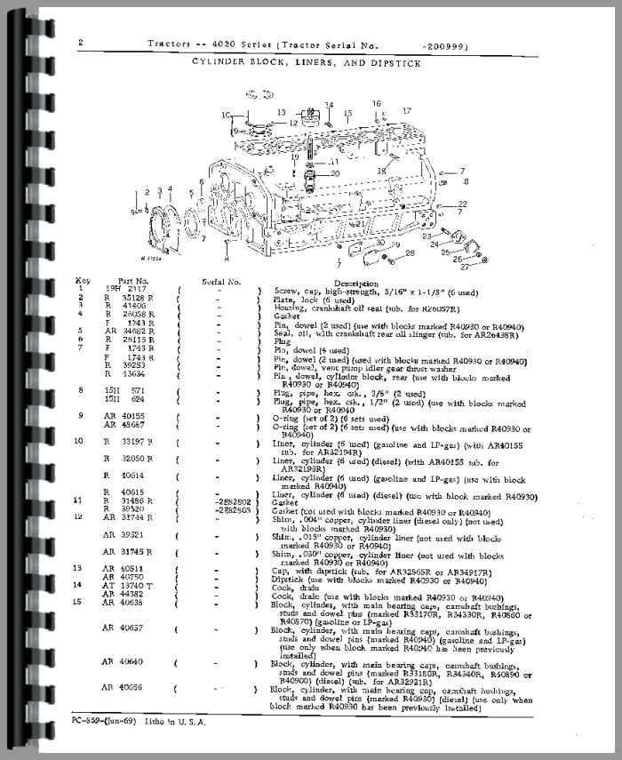 john deere 4630 tractor wiring harness