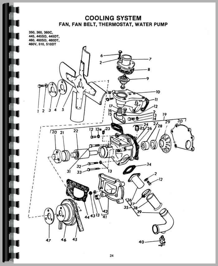 long tractor engine parts diagrams auto electrical wiring diagram long 350 tractor parts manual