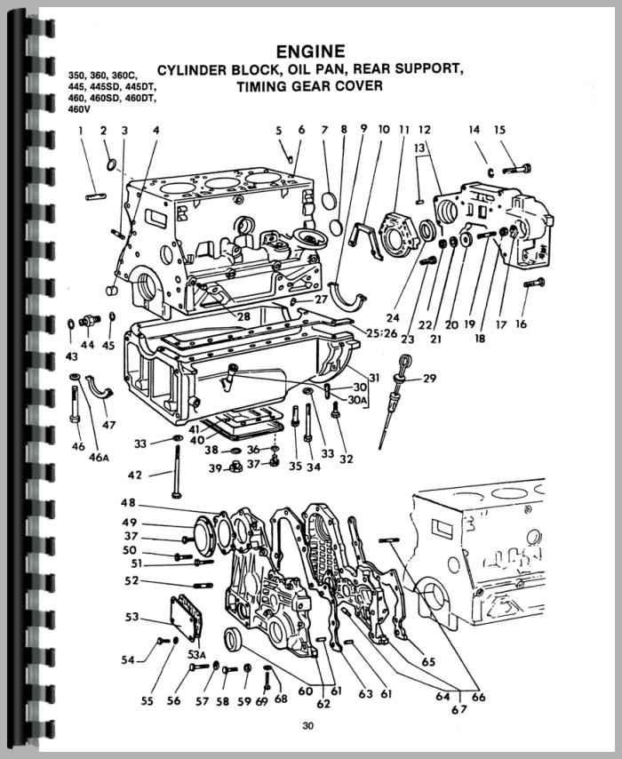 Tractor Parts Diagram - Wiring Diagram Progresif