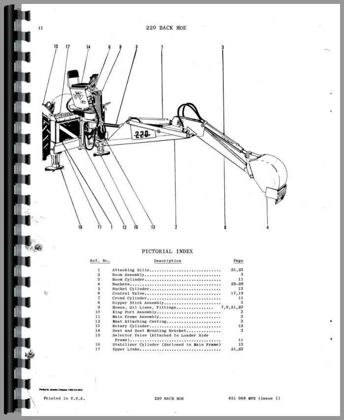 ford tractor parts schematics