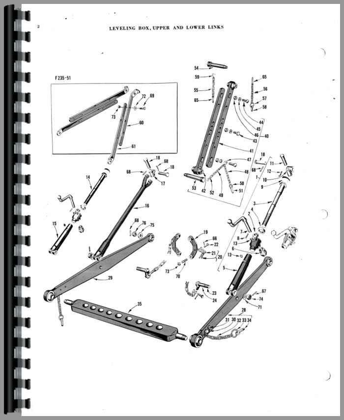 MASSEY FERGUSON 35 GAS WIRING DIAGRAM - Auto Electrical Wiring Diagram
