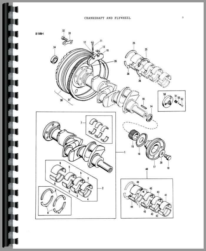massey ferguson 40 wiring diagram