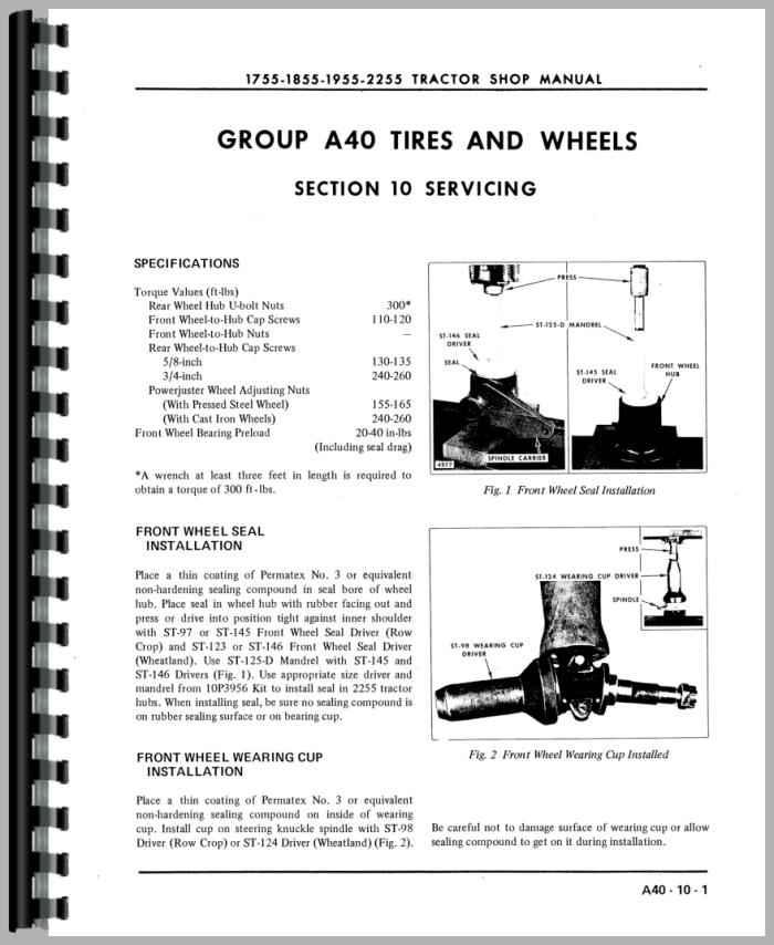 oliver 1755 hydraulic system diagram