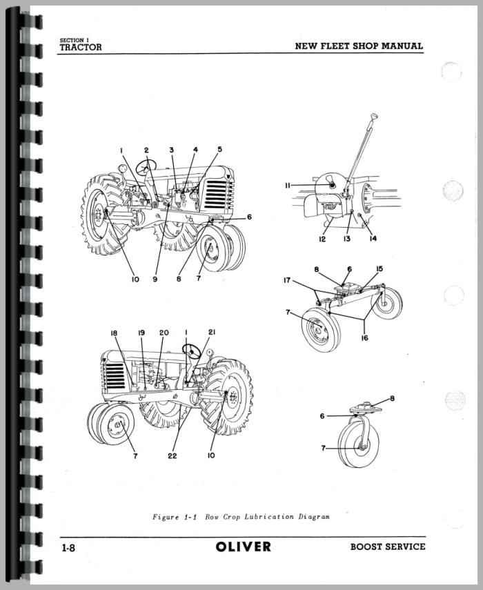 oliver 88 wiring diagram
