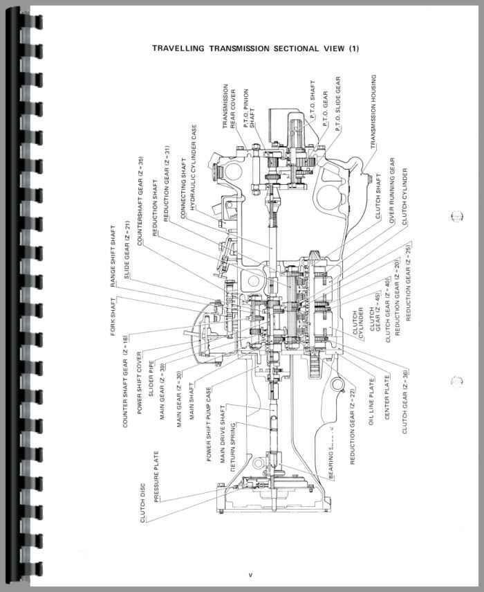 yanmar tractor engine diagram
