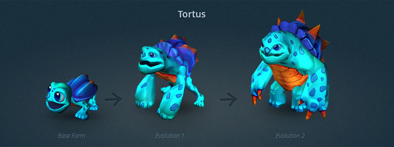 [Strife] Pet concept in Strife MOBA, How to select you pet