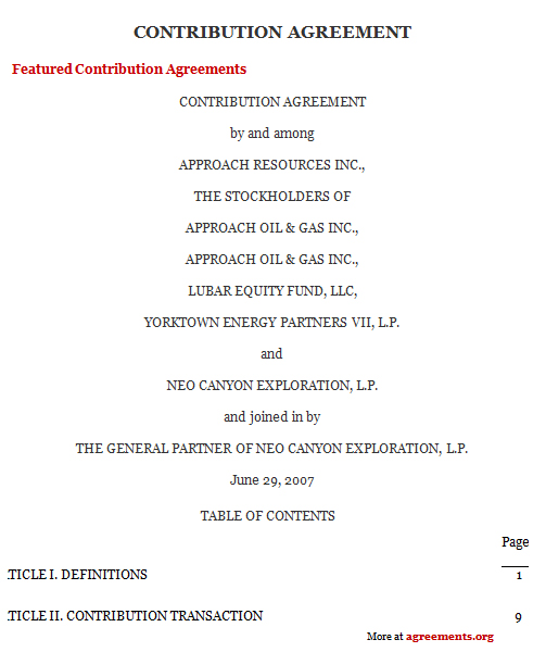 agreement sample - Yelommyphonecompany