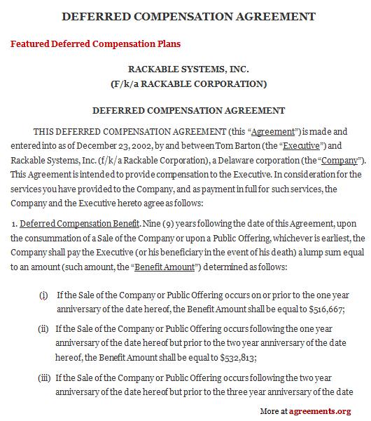 Compensation Plan Template 13 Sales Compensation Plans Examples - compensation plan template