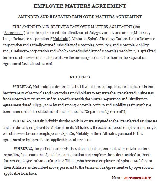 employment separation agreement node2004-resume-template - dentist employment agreement