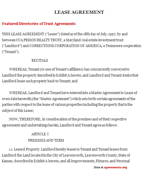 Sample House Lease Agreement Template  NodeCvresume