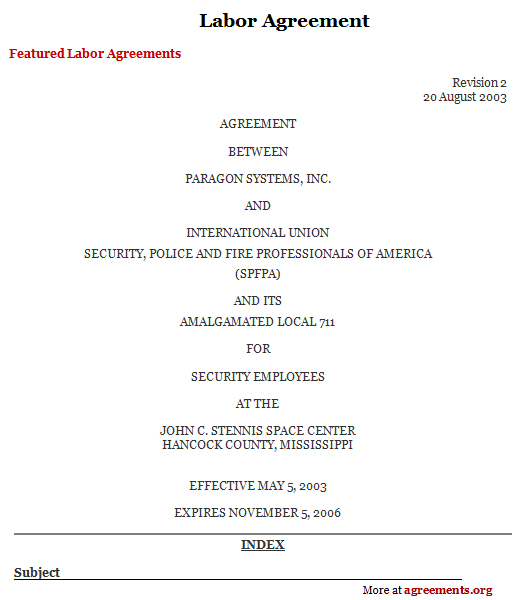 Agreement Of Contract Labour Best Resumes Curiculum Vitae And - agreement for labour contract