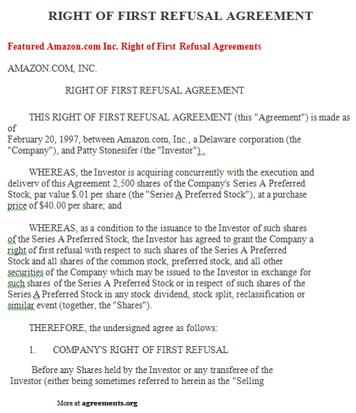 Doc#518600 Sample Stock Purchase Agreement Template u2013 Stock - sample stock purchase agreement example