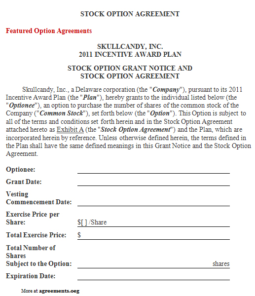 Company Shares Agreement Sample – Profit Sharing Agreement Template