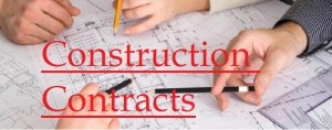 Constructions Contracts
