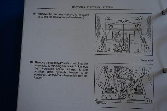 New Holland L865 LX865 LX885 LX985 Skid-Steer Loader service manual