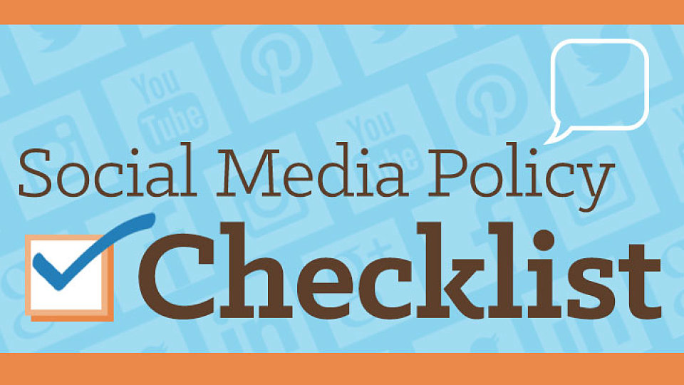 FREE DOWNLOAD Social Media Policy Checklist · The A Group