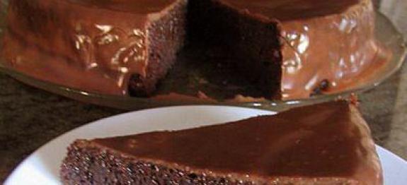 Tentação de chocolate (sem farinha)