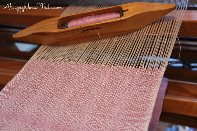 silk scarf weave