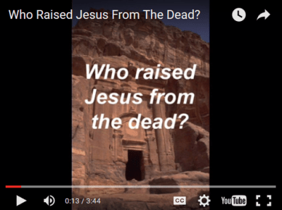 Who Raised Jesus From The Dead? | A Heart For God