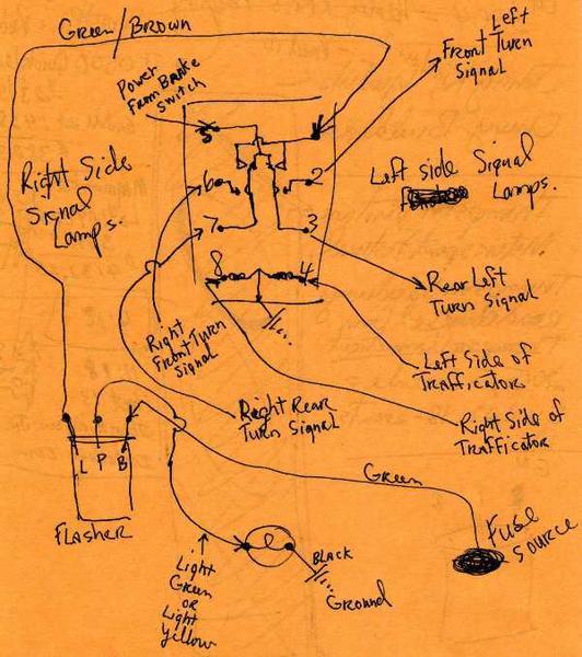 austin healey 3000 bj7 wiring diagram