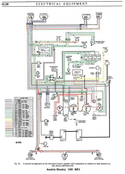 Austin Healey Overdrive Wiring Diagram - Schematics Data Wiring