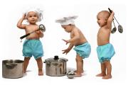 الطبخ مع الأطفال متعة وصحة لهم