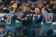 بايرن ميونيخ يبلغ نصف نهائي كأس ألمانيا بخماسية في شباك هامبورغ