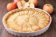تحضير كيكة التفاح