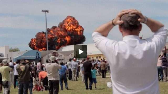 بالفيديو: طائرات تتحطم!!!