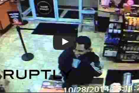 بالفيديو اوباما يسطو على محل تجاري في مدينة أمريكية.!!