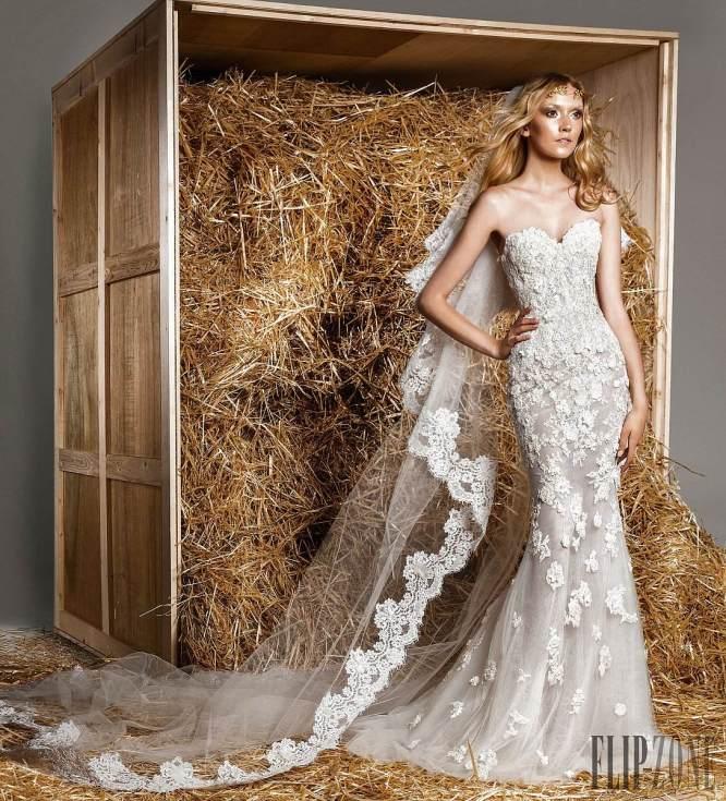فساتين الزفاف مراد وتشكيلة عام  2015