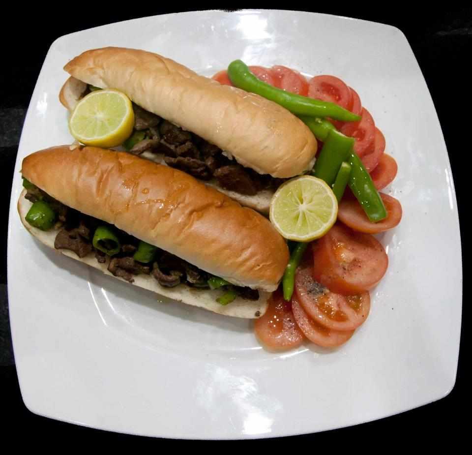 تحضير ساندويش الكبدة