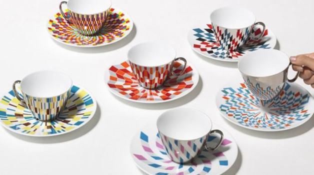 فنجان قهوة بتصاميم رائعة