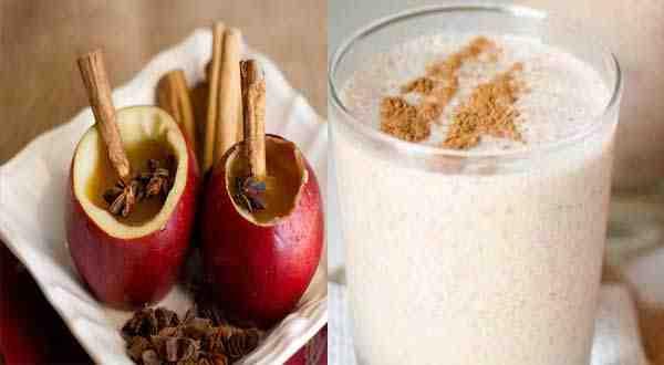 مشروب التفاح و القرفة مزيج سحري لحرق الدهون