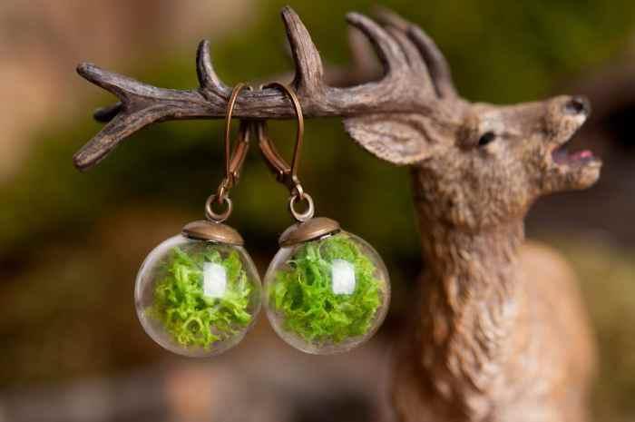 مجموعة مجوهرات من الطبيعة