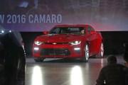 جنرال موتورز تكشف عن سيارتها الجديدة شيفرولي كامارو 2016