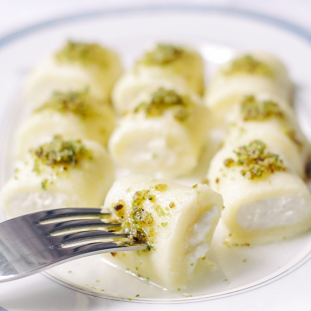 حلاوة الجبن السورية طريقة سهلة و نكهة مميزة