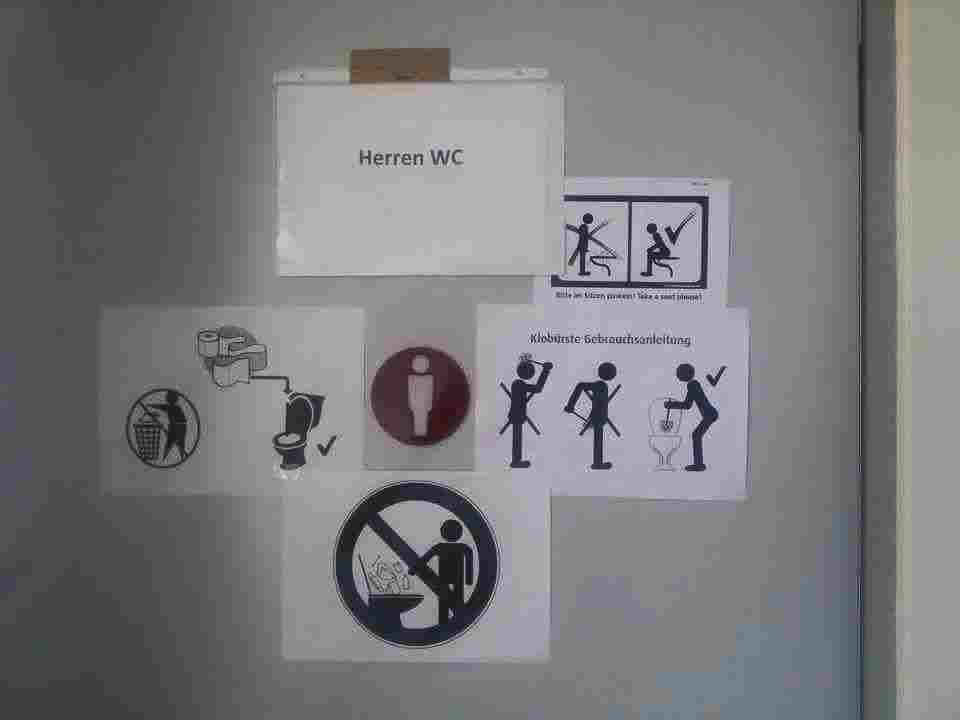 تعليمات مضحكة جداً للاجئين داخل الكامب في ألمانيا