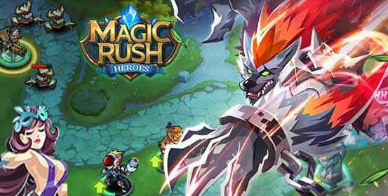 تحميل لعبة ماجيك راش هيروز للاندرويد حربية قتالية Magic Rush Heroes