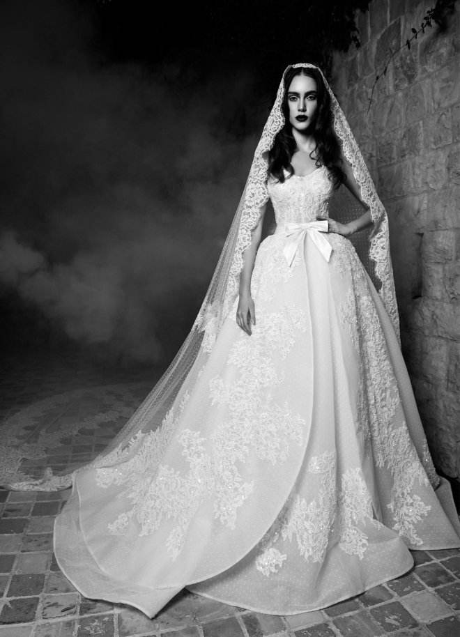 تشكيلة فساتين زفاف من زهير مراد