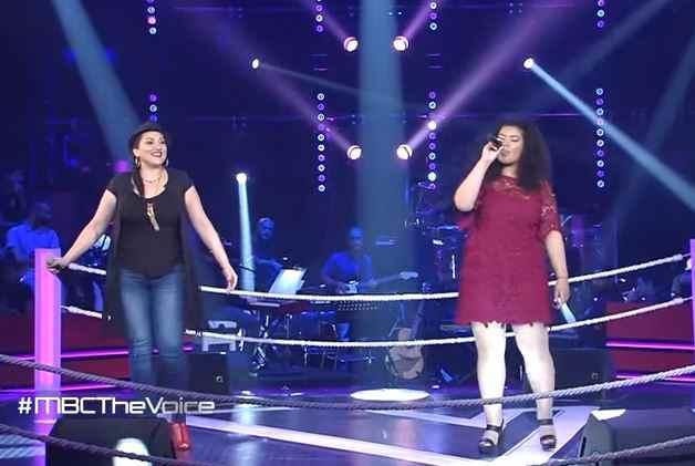 ريهام مصطفى و سارة عكرود