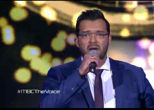 شاهد ذا فويس العرض المباشر الثالث عبد المجيد ابراهيم فريق شيرين