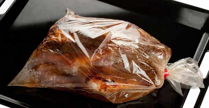 دجاج مشوي بالكيس الحراري طبق سريع و لذيذ