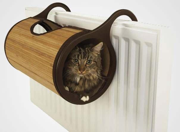 اصنع اماكن مفضلة للحيوانات الأليفة في منزلك