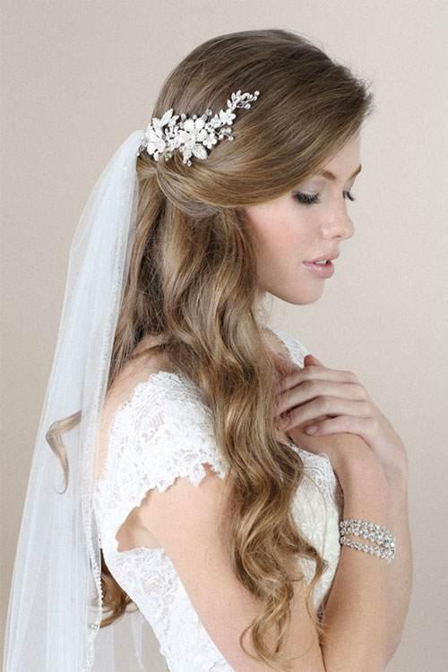 تسريحات شعر العروس 2016