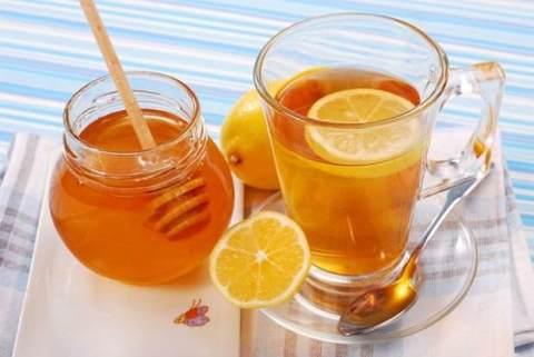 خلطة عسل وليمون